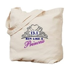 Run Like A Princess Tote Bag