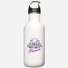 Run Like A Princess Water Bottle