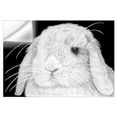 Lop Rabbit Wall Decal