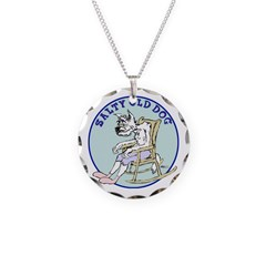 Salty Old Dog Necklace
