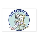 Salty Old Dog Postcards (Package of 8)
