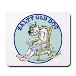 Salty Old Dog Mousepad
