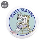"""Salty Old Dog 3.5"""" Button (10 pack)"""