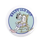 """Salty Old Dog 3.5"""" Button"""