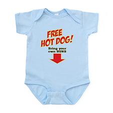 Free hot dog! Infant Bodysuit