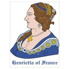 Henrietta of France Framed Print