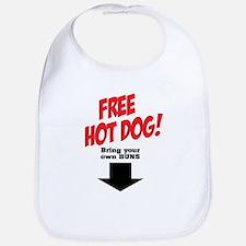 Free hot dog! Bib