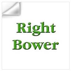 Right Bower Euchre Wall Decal