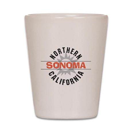 Sonoma California Shot Glass