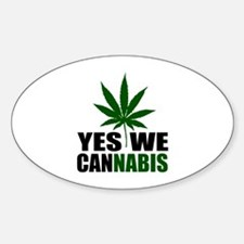 Yes we cannabis Decal