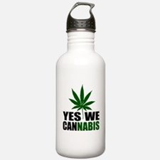 Yes we cannabis Water Bottle