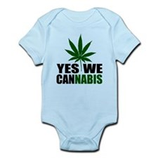 Yes we cannabis Infant Bodysuit