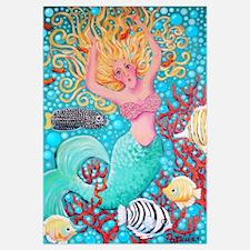 Swimming thru Coral