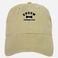 Groom (Your Wedding Date) Baseball Baseball Cap