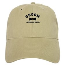 Groom (Your Wedding Date) Baseball Cap