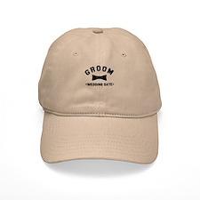 Groom (Your Wedding Date) Baseball Cap