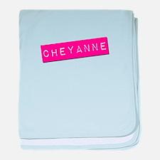 Cheyanne Punchtape baby blanket