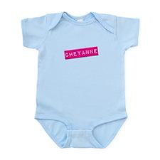 Cheyanne Punchtape Infant Bodysuit