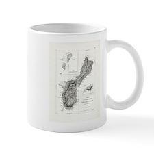 De L'Ile Gwam (Guam) Freycinet Mugs