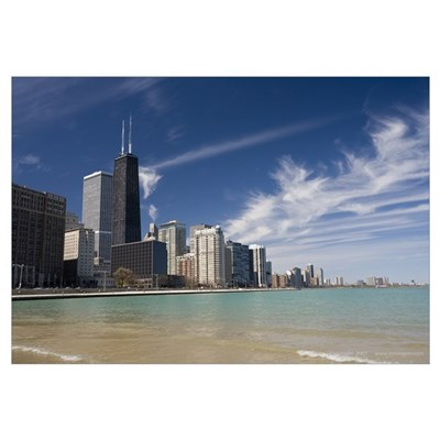 Chicago Lakefront Framed Print