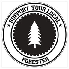 Support Forester Poster