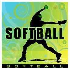 2011 Softball 6 Poster