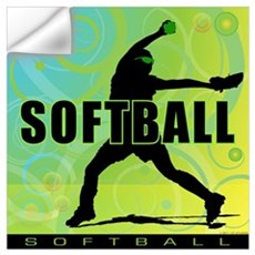 2011 Softball 6 Wall Decal