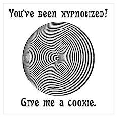 Hypnotized Cookie! Poster