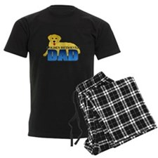 Golden Retriever Dad Pajamas