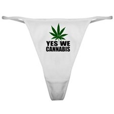 Yes we cannabis Classic Thong