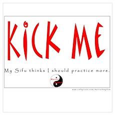 Kick Me: Sifu: Frontside Poster