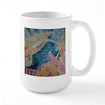 """""""Bench at Giverny"""" (TM) Large Mug"""