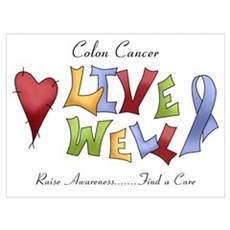 Colon Cancer (lw) Canvas Art