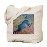 """Bench at Giverny"" (TM) Tote Bag"