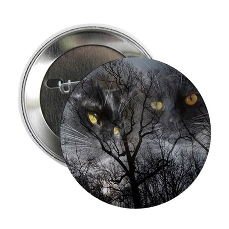 "Enchanted forest 1 2.25"" Button"