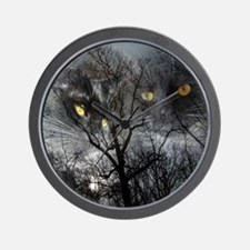 Enchanted forest 1 Wall Clock