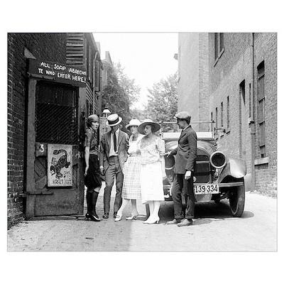 The Krazy Kat Speakeasy, 1921 Poster