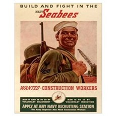 Wanted Costruction Workers Poster