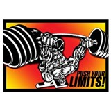 Bodybuilding Wrapped Canvas Art