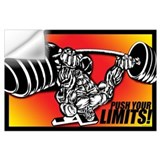 Bodybuilding Wall Decals
