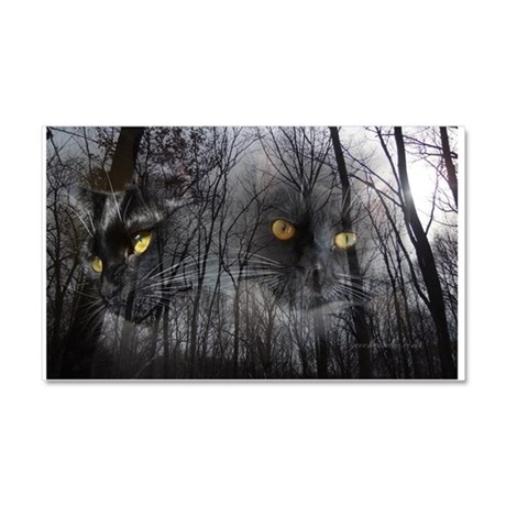 Enchanted forest 2 Car Magnet 20 x 12
