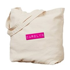 Carolyn Punchtape Tote Bag