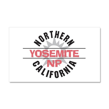 Yosemite National Park Car Magnet 20 x 12