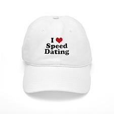 I Love Speed Dating Baseball Cap