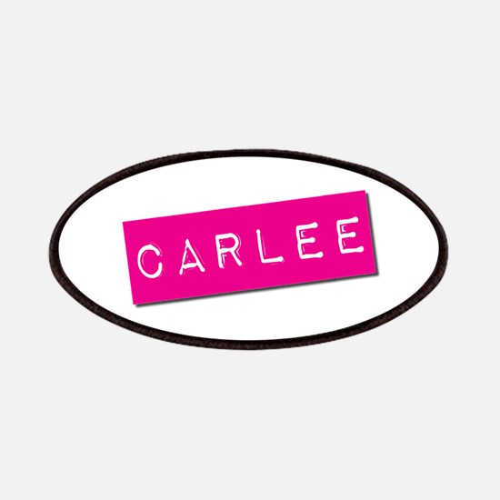 Carlee Punchtape Patches