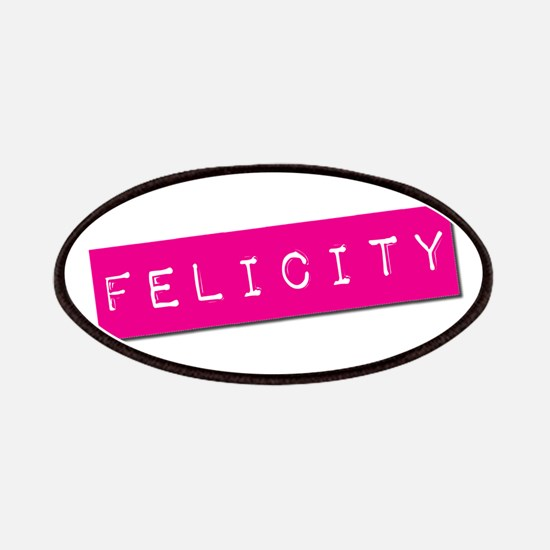 Felicity Punchtape Patches