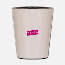 Tamia Punchtape Shot Glass