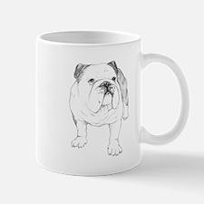 Bulldog Drawing Mug