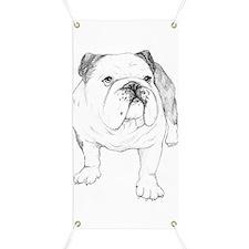 Bulldog Drawing Banner