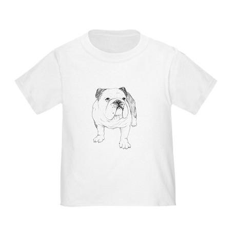 Bulldog Drawing Toddler T-Shirt